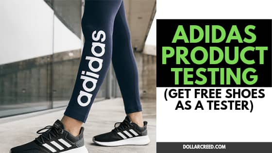 Image of adidas product testing