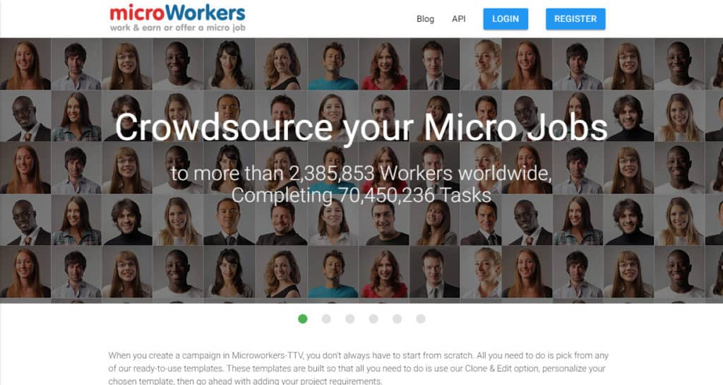 Photo of Micro workers; a great site to find Data entry jobs